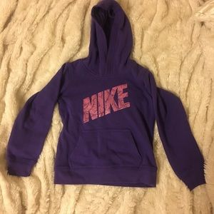 Little Girls 6x Nike Hooded Sweatshirt